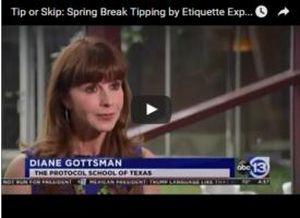 Spring Break Tipping Etiquette