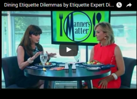 Dining Etiquette Dilemmas