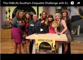 FABLife Southern Etiquette Challenge