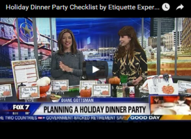 Dinner Party Checklist
