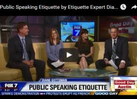 Public Speaking Etiquette