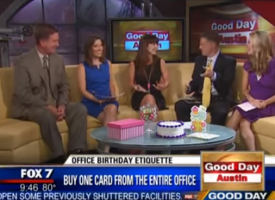 Birthdays in the Office Etiquette