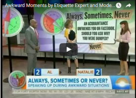 Awkward Moments Etiquette