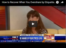 How to Recover When You Overshare