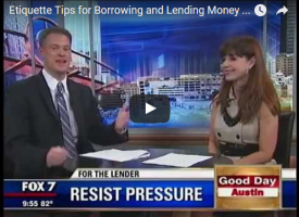 Borrowing Money Etiquette