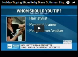 HLN Holiday Tipping Etiquette