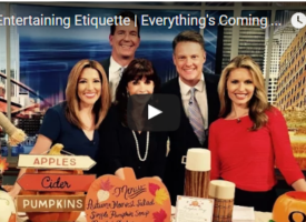 Fall Entertaining Etiquette