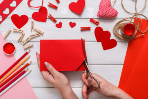 Valentine day Send a note to a loved one