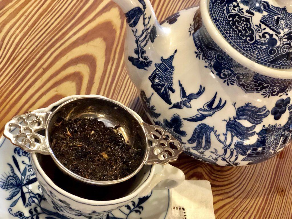 Loose Leaf Tea and Using a Tea Strainer